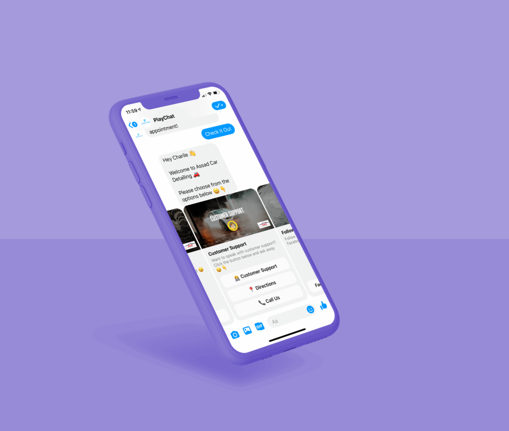 Customer Service With Facebook Messenger Chatbots