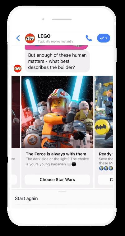Lego Facebook Bot